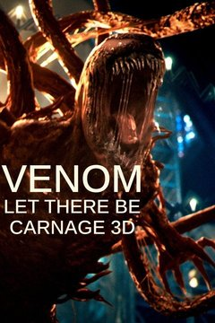 poster image for Venom: Let There Be Carnage 3D